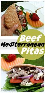 Mediterranean Beef Pitas Perfect for Summer Protein Challenge