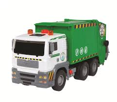 Fast Lane Pump Action Garbage Truck - Toys