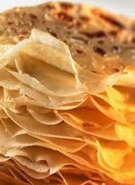 pâte à crêpes légère