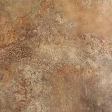 style selections mesa rust glazed porcelain floor tile common