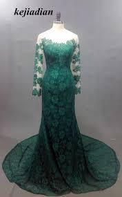 online get cheap emerald green long sleeve lace dress aliexpress