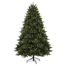 Frasier Christmas Tree by 7 5 U0027 Pre Lit Just Cut Medium Frasier Fir Tree U2014sears
