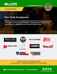 100 Fire Truck Accessories Accessory Brochures