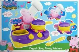 peppa pig sing along kitchen brand new boxed ebay