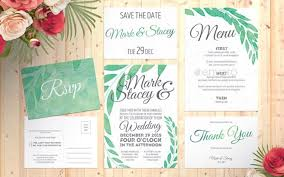 This Garden Style Wedding Invitation Only Has A Bit Of Green In The Font Or Background But With Its Natural Brown And Illustration