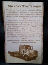 100 Tow Truck Driver Requirements S Prayer Laser Engraved Etsy