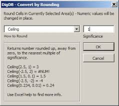 Ceiling Function Excel 2007 by Excel Rounding Round Roundup Rounddown Floor Ceiling Int