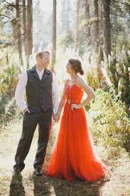 Vintage Red Wedding Dress