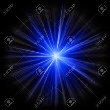 Supernova Star Burst Created In Image Editor From Scratch Stock