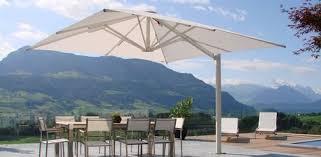 prestige giant cantilever umbrella white prestige giant