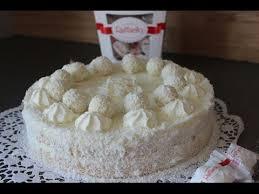 raffaello torte kokos torte sallys welt