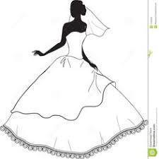 Bridal Clip Art Black And White