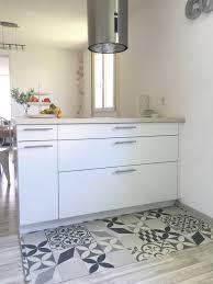 cuisine carreaux de ciment luxe deco tapis carreaux de ciment