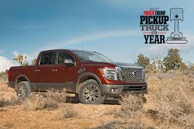 Nissan Titan Wins 2017 Pickup Truck Of The Year #PTOTY17