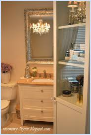 Pink Mercury Glass Bathroom Accessories by Creating A Romantic Spa Bathroom On A Budget