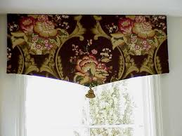 Kitchen Curtain Valance Styles by Drapery Valance Styles One Flat Panel Of Fabric In A Large