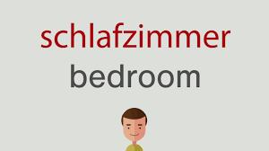 wie heißt schlafzimmer auf englisch