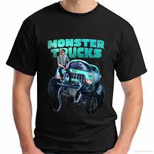 100 Truck Movie New Monster New Short Sleeve Black MenS T Shirt Size S