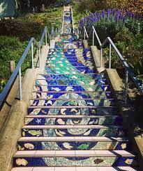 postmark california san francisco 16th avenue tiled steps project