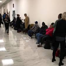 I Turned To My Staff And Asked If It Was A Demonstration No They Said Lobbyists Pay The Homeless Others Hold Their Place So Can Get In 1st