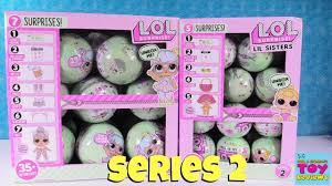 LOL Surprise Series 2 Tots Lil Sisters Opening Doll Review
