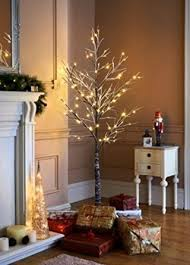 7ft Christmas Tree Uk by Christmas Pre Lit Twig Led Floor Standing 7ft Outdoor Indoor Snowy