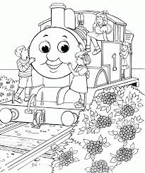 Thomas The Tank Engine Coloring Pages Free Printable Train For Kids