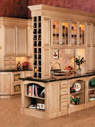 Traditional Wine Kitchen Decor