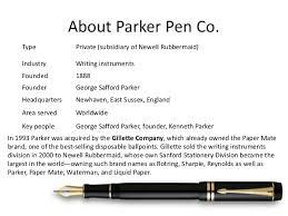 Parker Pen Co