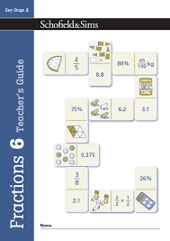 Fractions Decimals And Percentages Book 6 Teachers Guide
