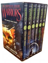 Warriors The Prophecies Begin Complete First Series Collection 6 Books Box Set Volumes 1 To