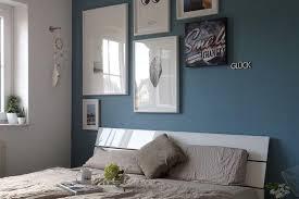 schlafzimmer wandgestaltung mit farbe kolorat