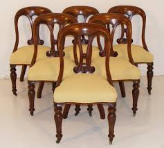 A Set Of Six Mid 19th Century Mahogany Sling Back Dining Chairs ... Antique Set 10 Victorian Mahogany Balloon Back Ding Chairs 19th Of Six Century French Louis Xvi Cane Dutch Marquetry Inlaid Of 6 Legacy 12 Ft Flame Table 14 Chairs Room In Stock Photos Chairsgothic Chairsding Chairsfrench Fniture Single 2 Arm Late Hepplewhite Style Camelback 18th Walnut Chair With Queen Anne Legs English Cira 4 Turn The Century Ding In Wallasey Merseyside Gumtree 9776 Early Regency Vinterior