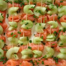 comment cuisiner un concombre brochettes concombre au saumon pour tous