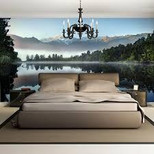 schlafzimmer idee fototapete wanddekoration wanddekoration