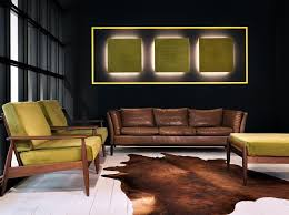 akustische wandplatte mit integrierter beleuchtung