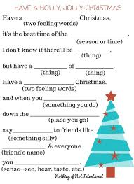 Halloween Mad Libs Free by Christmas Activities Online Free U2013 Fun For Christmas