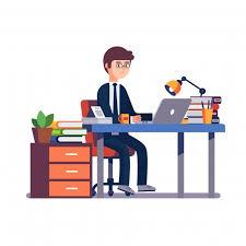 bureau homme d affaire homme d affaires entrepreneur travaillant au bureau télécharger