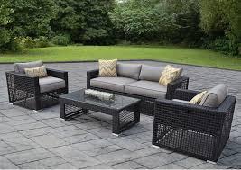 Black Rectangle Modern Metal Metal Patio Furniture Stained Design For Metal Patio Furniture Clearance