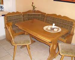 gebraucht eckbank tisch stühle eiche rustikal