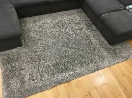 teppich hochflor grau 1 60mx2 30m kibek