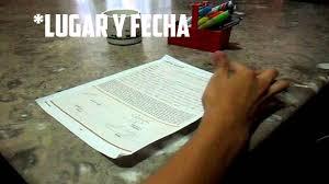 Notarial Como Llenar Una Carta Poder Wwwmiifotoscom