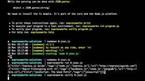 ExpressWorks 8 JSON API Solution YouTube