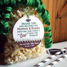 Football Baby Shower Party Favor Tags Football Baby Shower