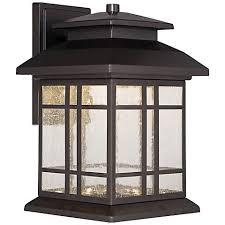 piedmont 10 1 4 h rubbed bronze led outdoor wall light