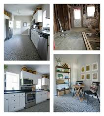 Mannington Carpet Tile Adhesive by Our Deco Flooring Gives This Kansas Kitchen A Cool Vintage Vibe
