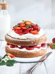rezept für eine einfache erdbeer mascarpone torte food