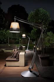 SuperArchimoon Outdoor Floor Lamp Panama by Philippe Starck for Flos