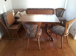 esszimmergruppe eiche vollholz tisch stühle eckbank