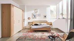 interliving schlafzimmer serie 1013 komplettzimmer mit beleuchtung balkeneiche sand zehnteilig holzfüße
